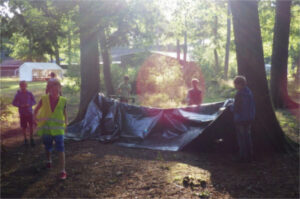 zomerkamp-overlevingskamp